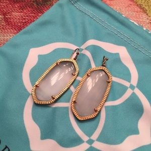 Kendra Scott Jewelry - Kendra Scott rose gold slate earrings